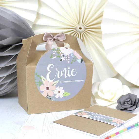 Personalised Childrens Wedding Activity Box