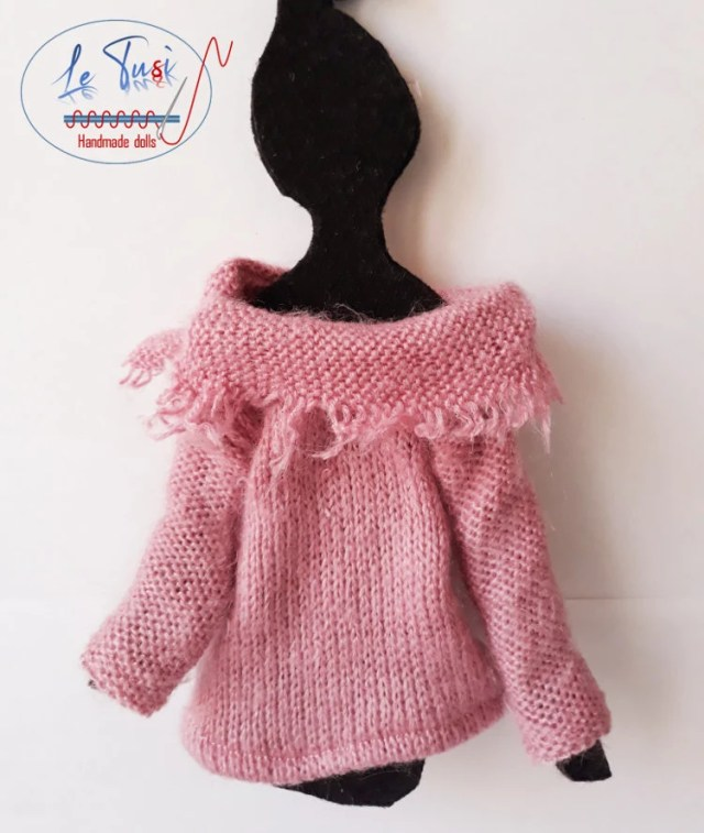 Knit, sweater in wool for...