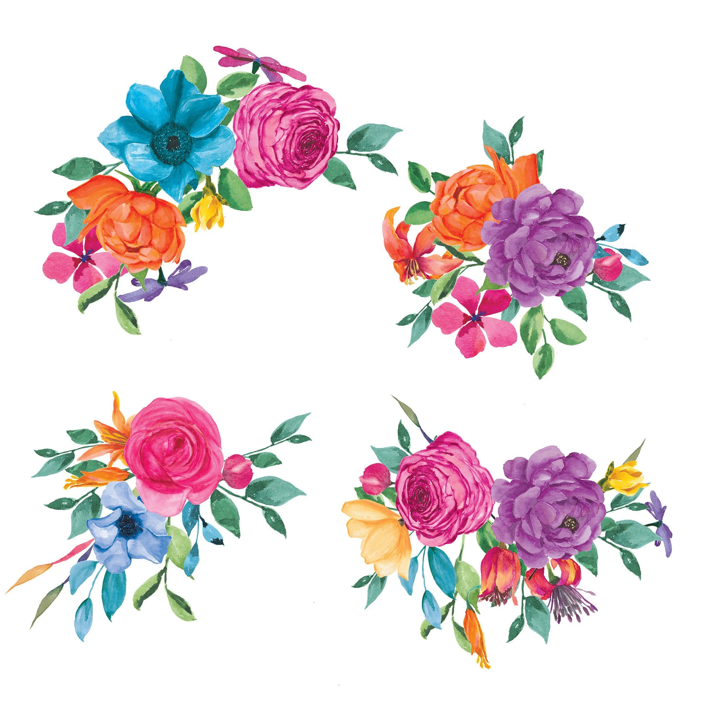 Hand Drawn Flower Clip Art