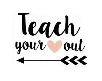 Download The Influence of a good teacher can never be erased svg