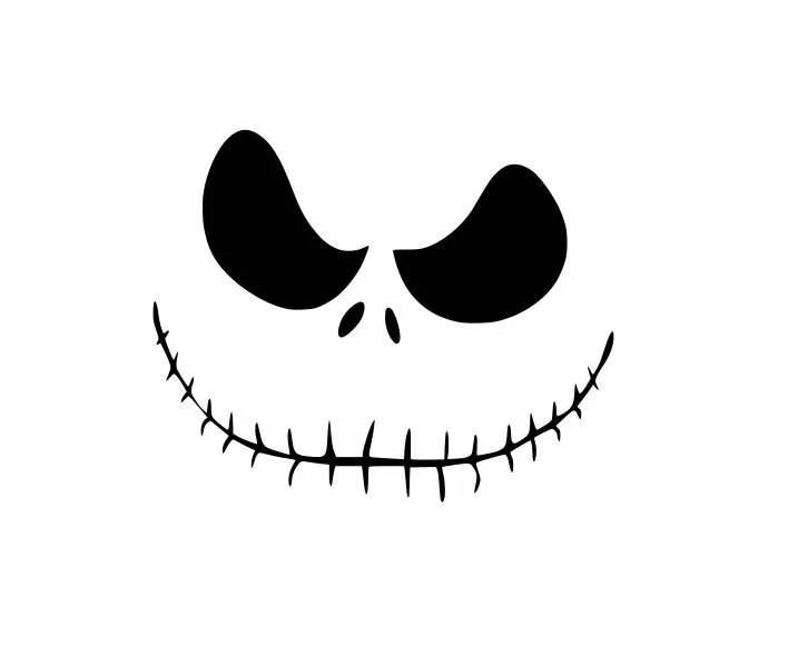 Download Jack Skellington Nightmare before Christmas SVG