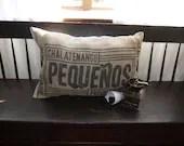 Handmade Coffee Sack Pill...