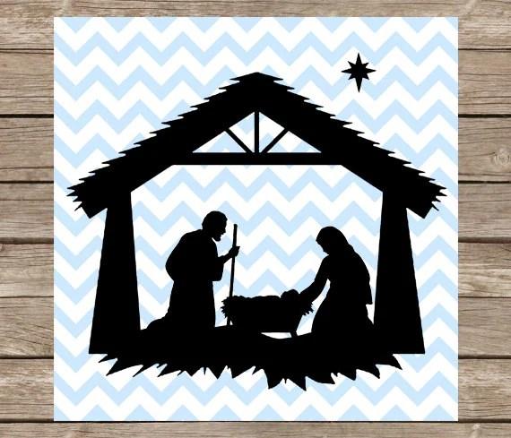 Download Nativity svg Christmas svg Nativity Scene svg Nativity
