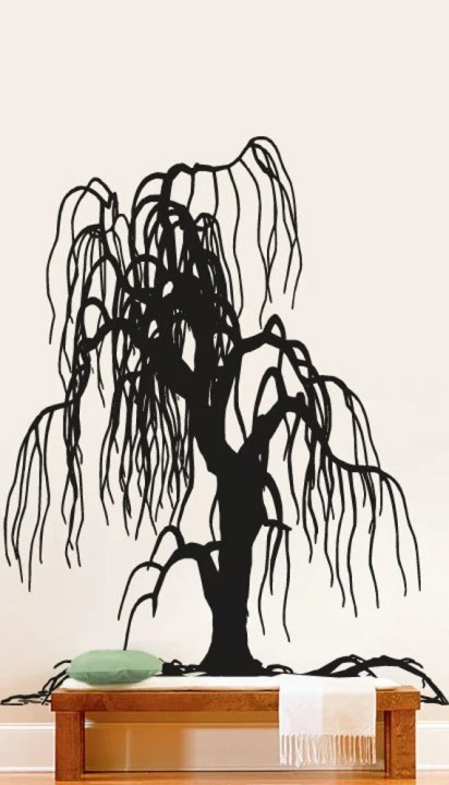 Weeping Willow Wall Decal by Stickerbrand