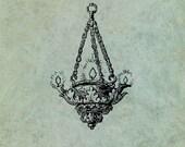 Chandelier - Antique Styl...