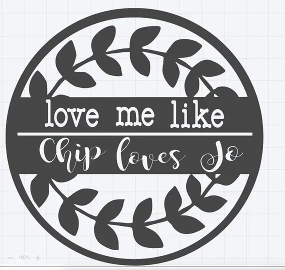 Download Like Chip Loves Jo SVG File-Personal Use Only