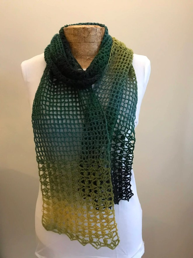 One Skein Crochet Scarf P...