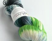 Hand dyed MCN sock yarn, ...