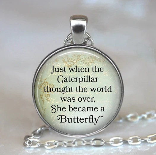 World Butterfly Over It Thought When Became Ring Just Caterpillar Was