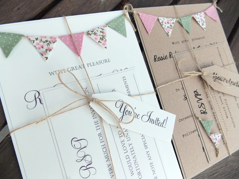 Custom Wedding Invitations Under 1