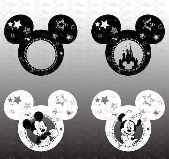 Download Mickey Mouse Svg Disneyland Eps Dxf Png vector files mickey