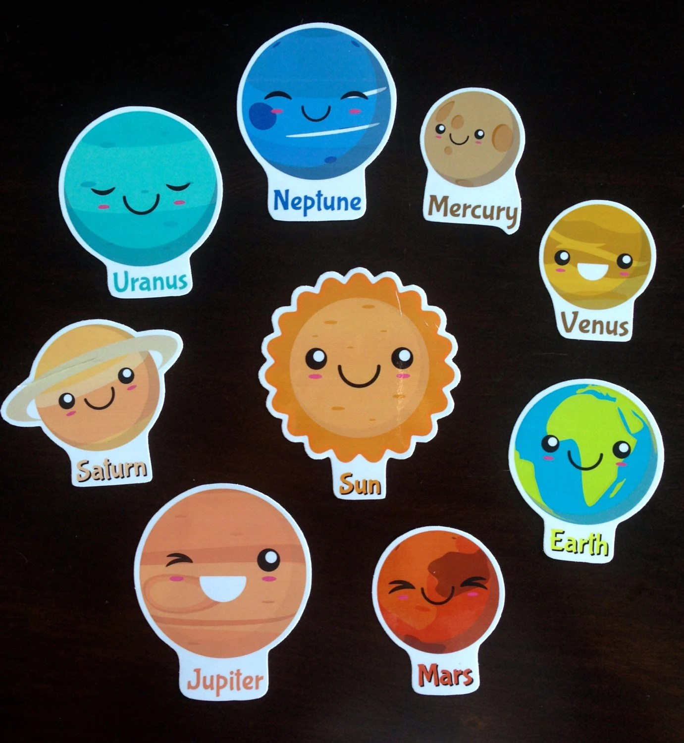 Magnetic Solar System Activity Educational Planets Teaching