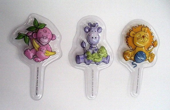 Jungle Baby Cupcake Picks