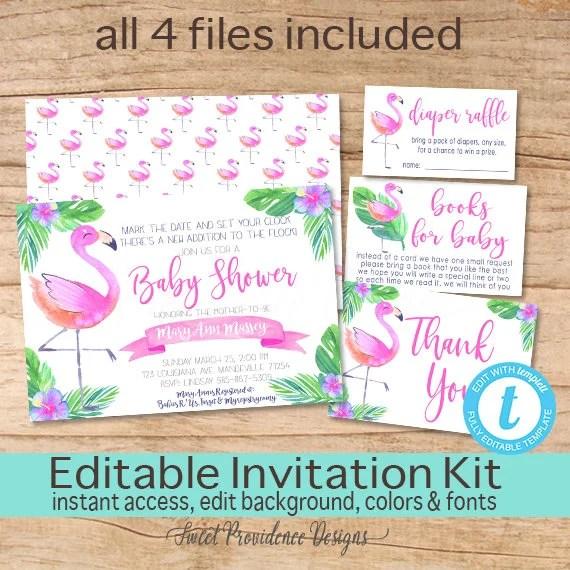 Baby Shower Invitations Kit