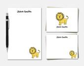 Lion Stationery Set - Per...
