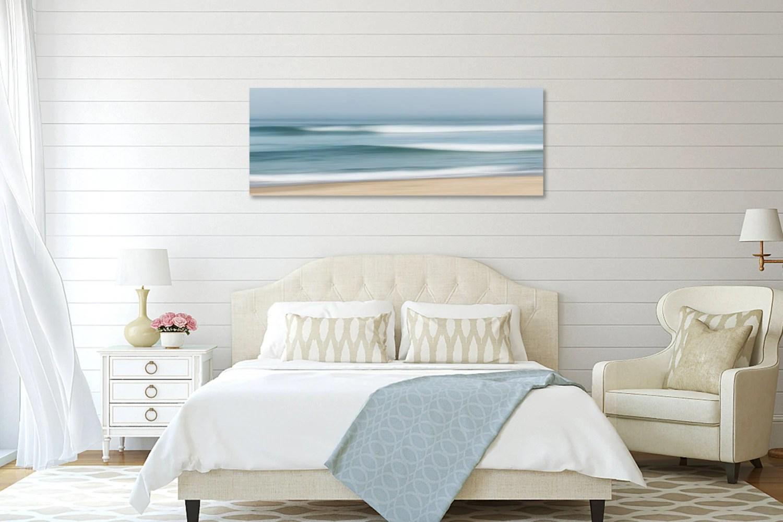 Coastal Wall Decor Large Abstract Beach Canvas Wall Art