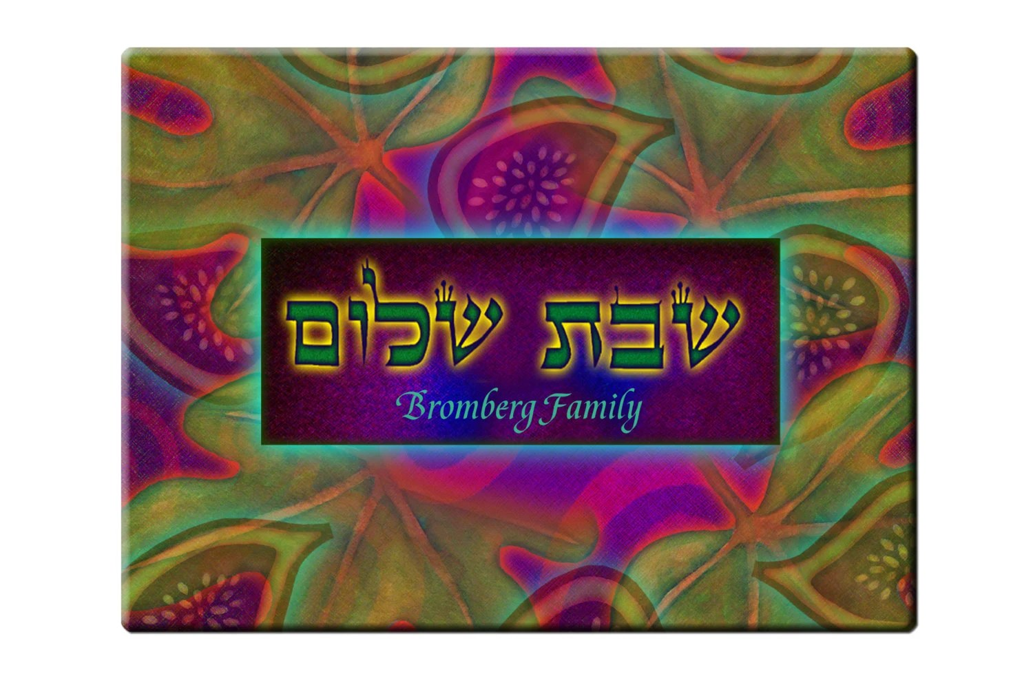 Jewish Wedding Gift Personalized Challah Board Tempered