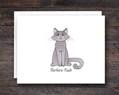 Cat Note Cards - Personal...