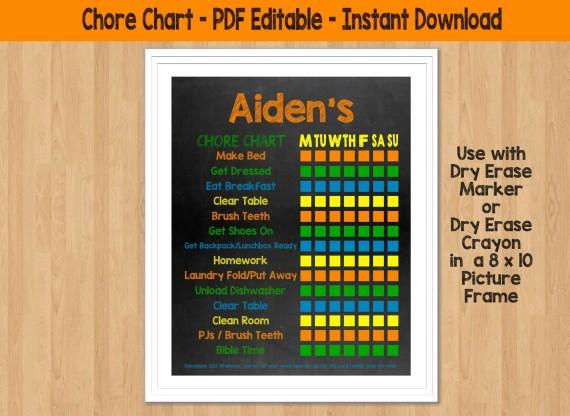 Printable & Editable 8