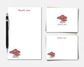 Mushroom Stationery Set -...
