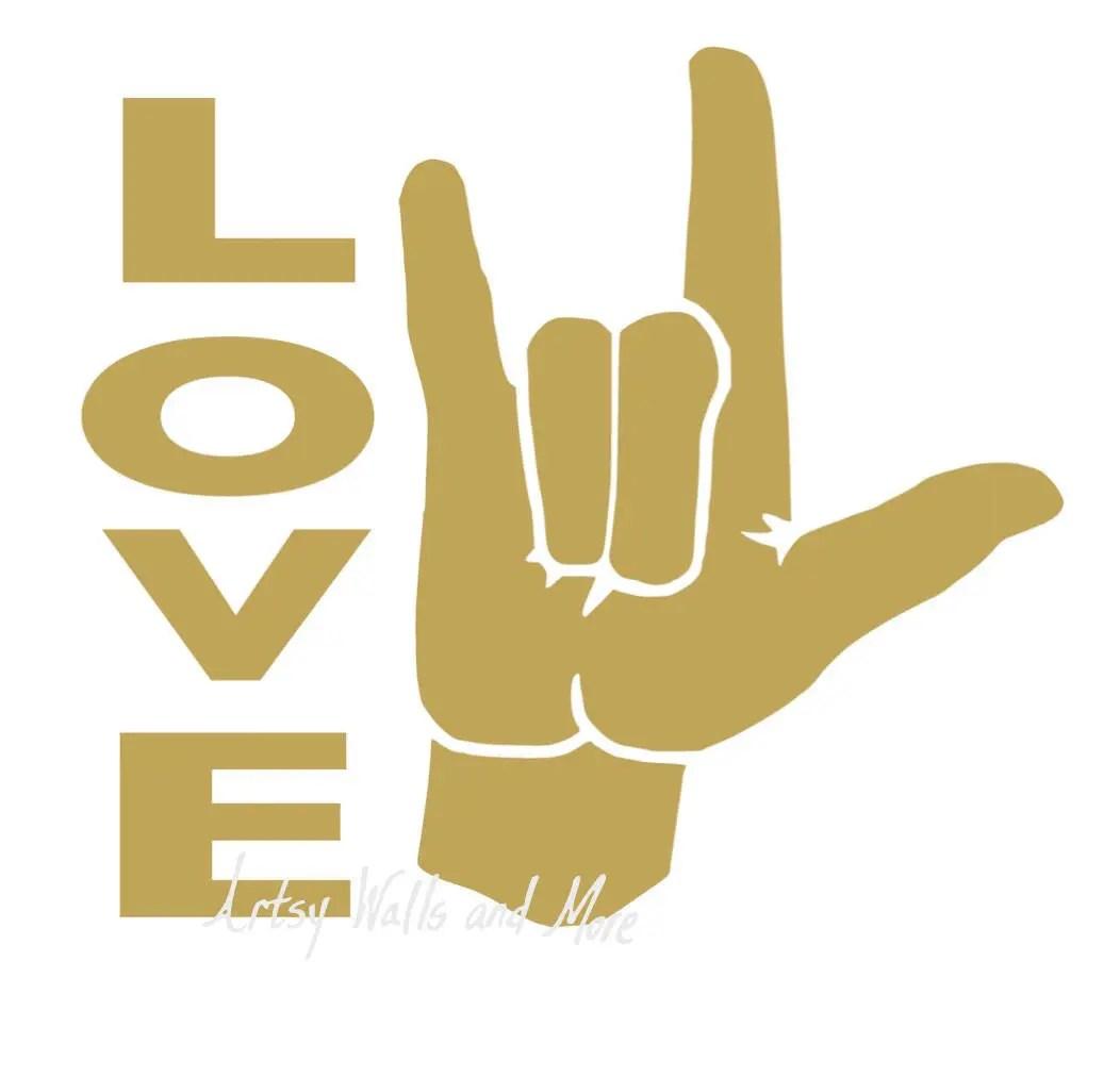 Download I love you sign language SVG clipart cut file svg png Jpg