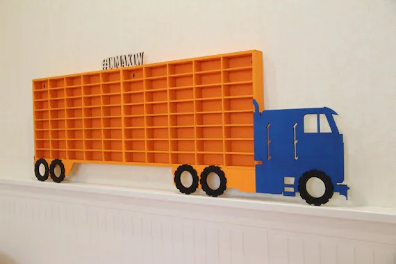 Semi Truck That S Also A Toy Car Holder : Steps to teach your kids successfully declutter their