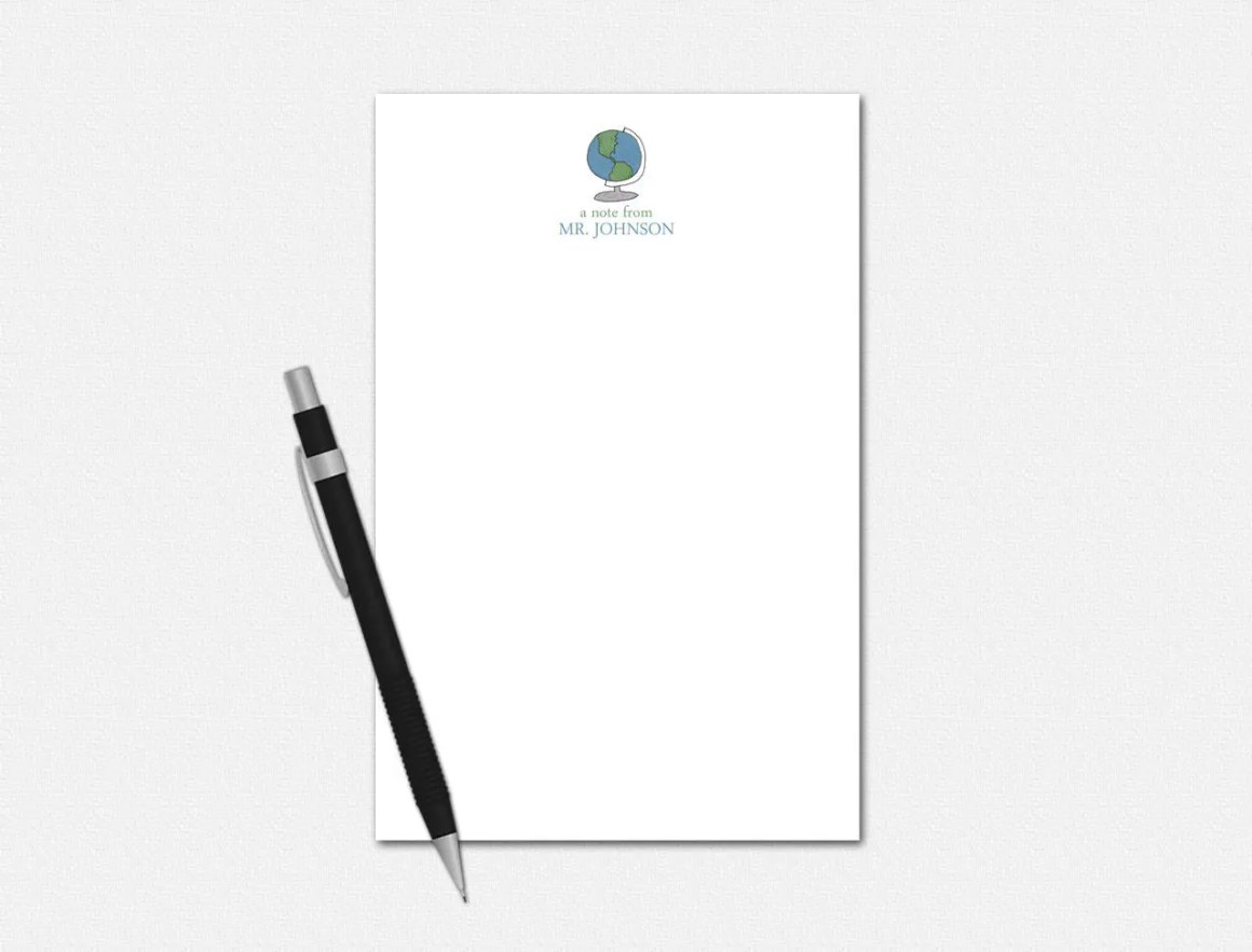 Personalized Notepad - Gl...