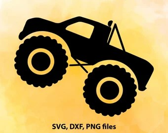 Download Monster Truck SVG file Truck SVG file Cricut Monster Truck