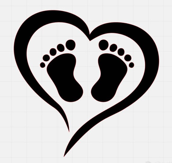 Download Baby Feet Love Svg File svg cut files svg files for cricut