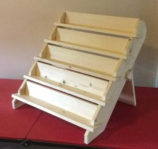 Collapsible Handmade Soap Display Stand