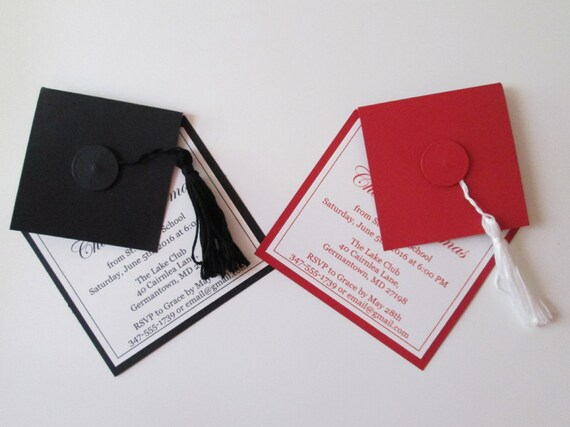 Custom High School Graduation Announcements