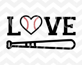 Download Baseball bat svg | Etsy