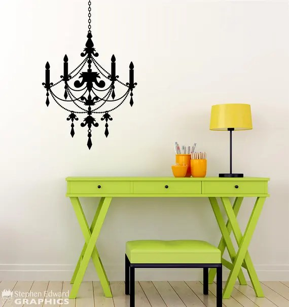 Chandelier Wall Decal by StephenEdwardGraphic