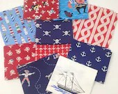 Nautical Fat Quarter Bund...