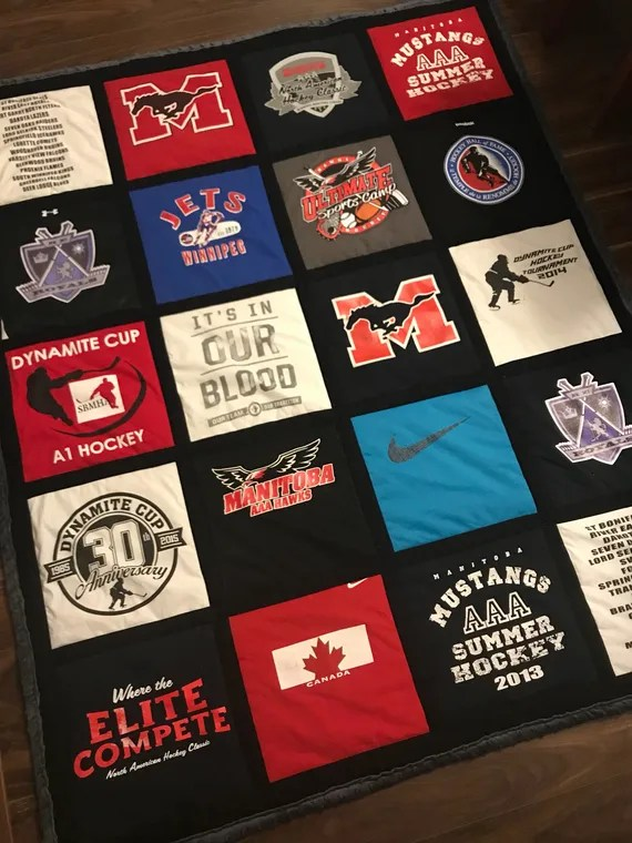T-Shirt Memory Quilt & More by FreshThreadsShop in Winnipeg, Manitoba