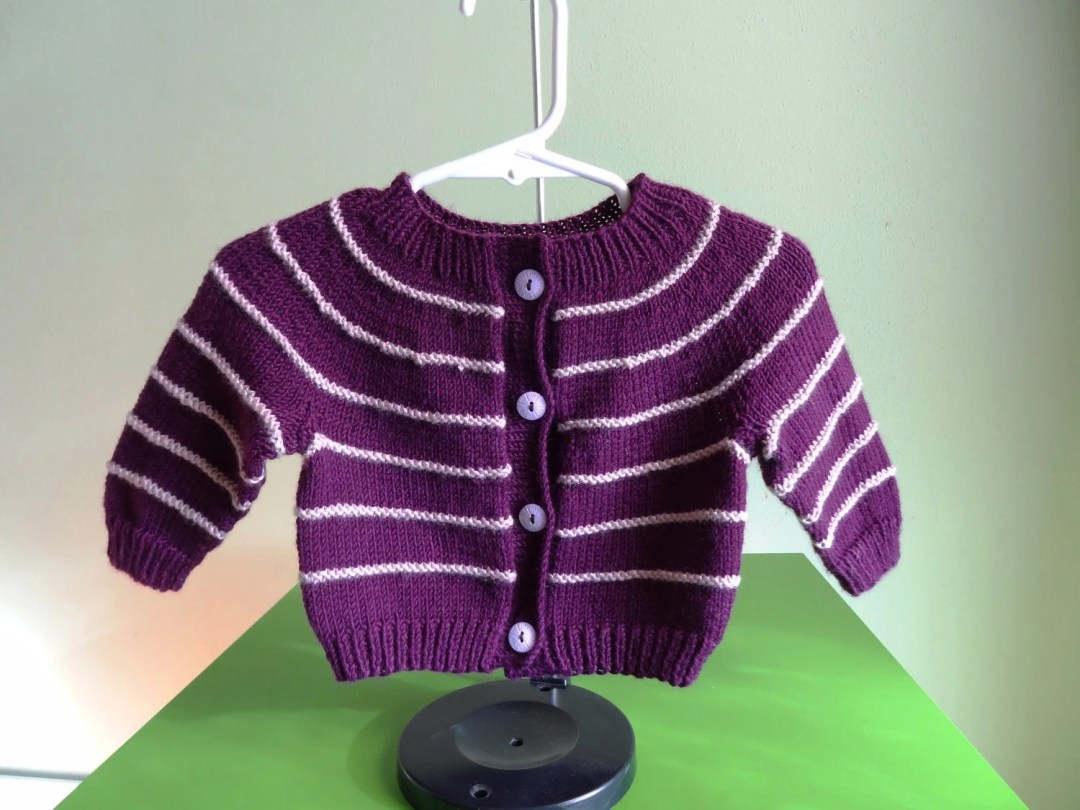 Baby Sweater Cardigan - T...