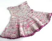 Girl's skirt, wool sk...