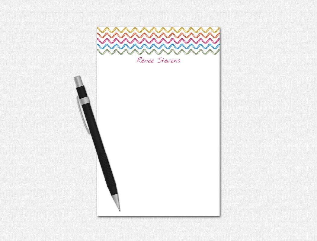 Personalized Notepad - Cu...