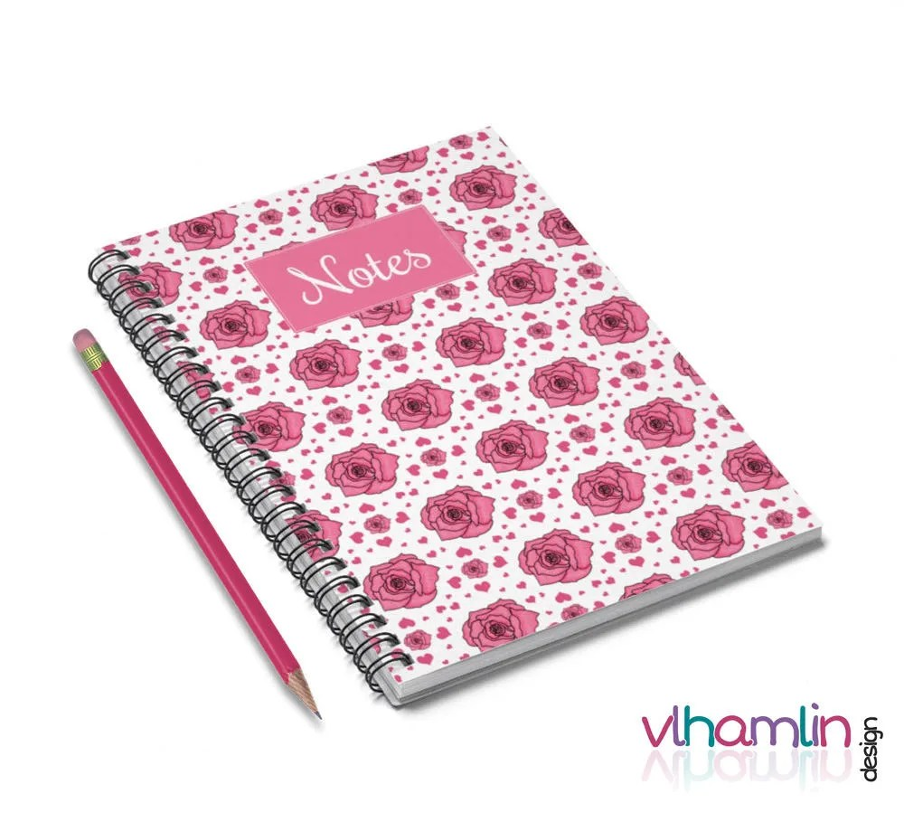 Roses & Hearts Journal - ...