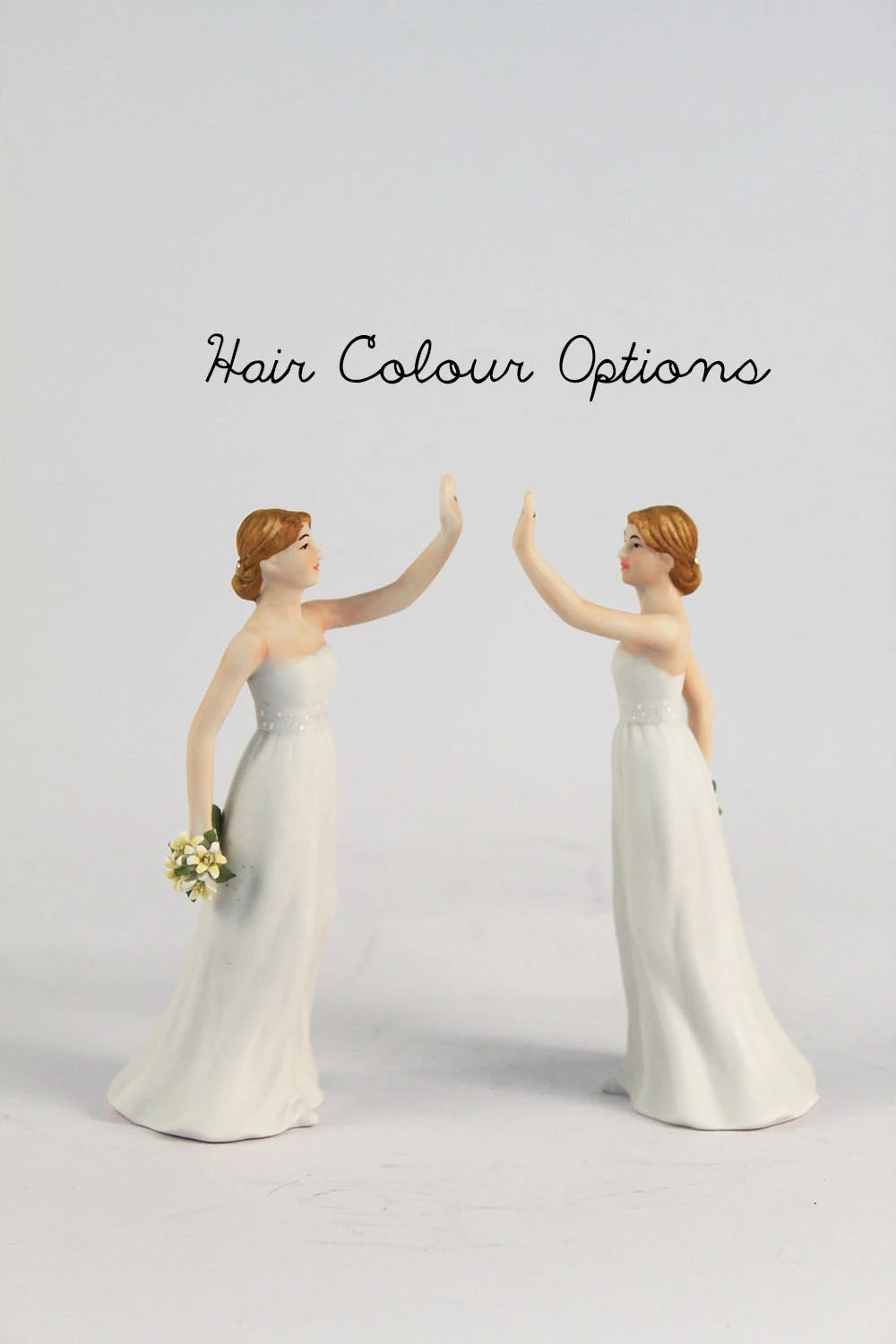 Marriage Equality High Five Brides Wedding Cake Topper