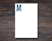 Modern Monogram Notepad -...