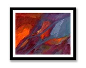 Red orange purple blue ab...