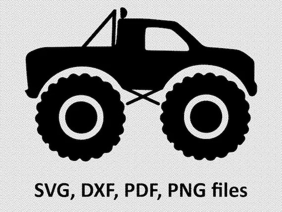 Download Truck SVG Monster Truck svg Boy truck svg Truck DXF