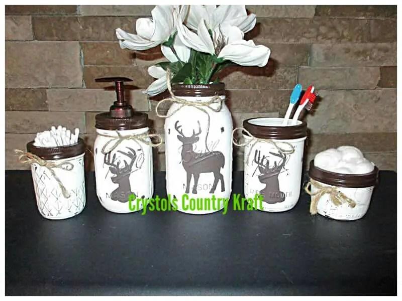 Deer Bathroom Decor