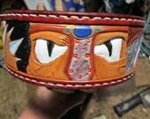 Custom dog collar , large...