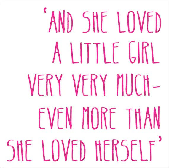 Download And She Loved A Little Girl or Boy Reusable STENCIL 6