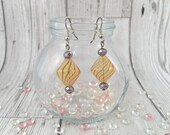 Blown Glass Beaded Earrin...