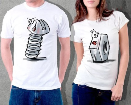 Nuts and Bolts T-shirts