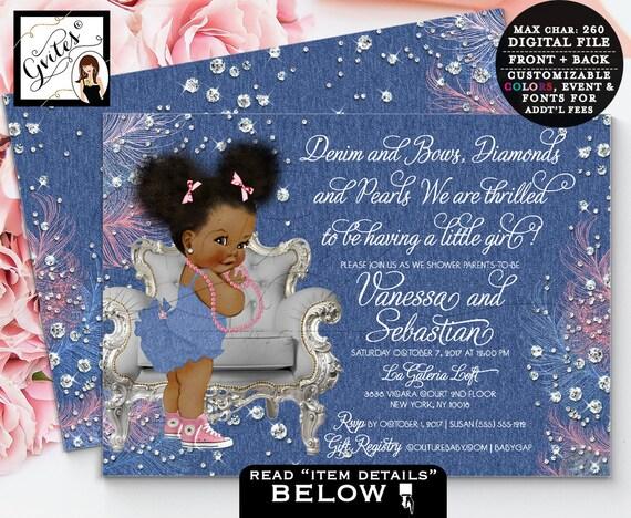 Baby Shower Invitation Layout