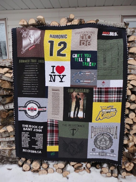 Memory Quilt by KarisQuiltShop in Greenwood, British Columbia